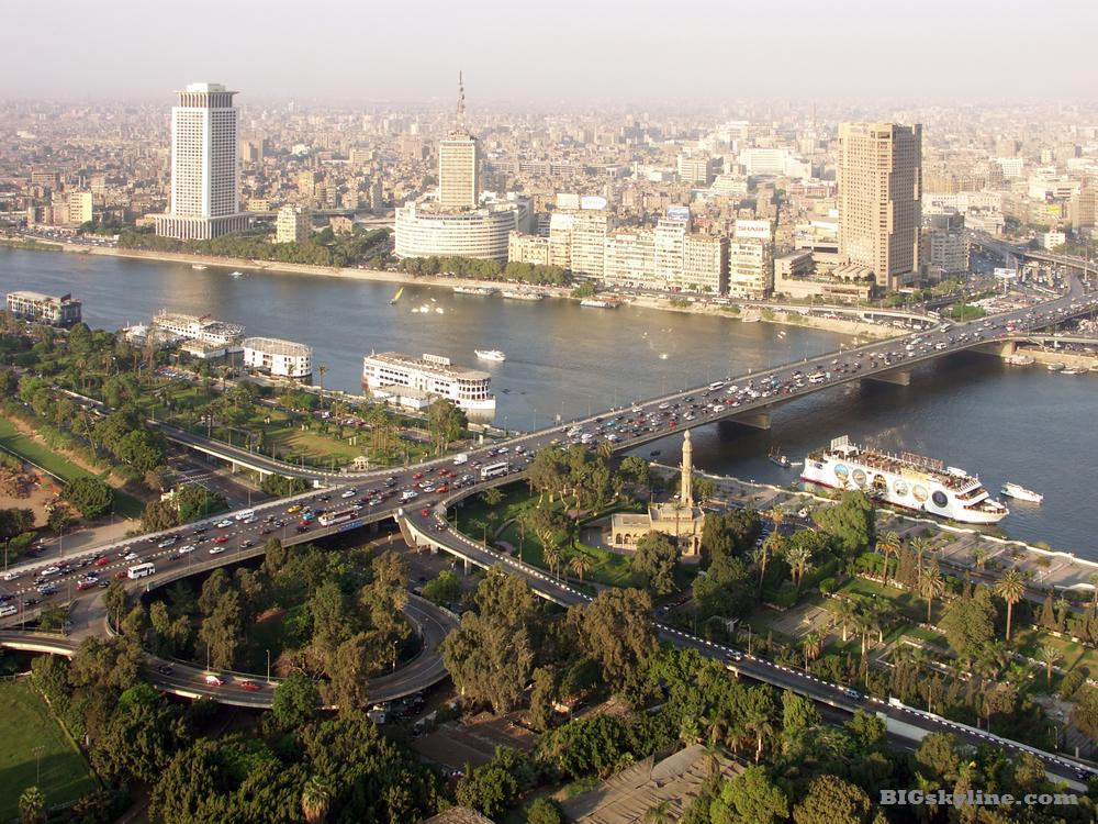 Cairo Egypt  city photos : Cairo, Egypt city skyline pic