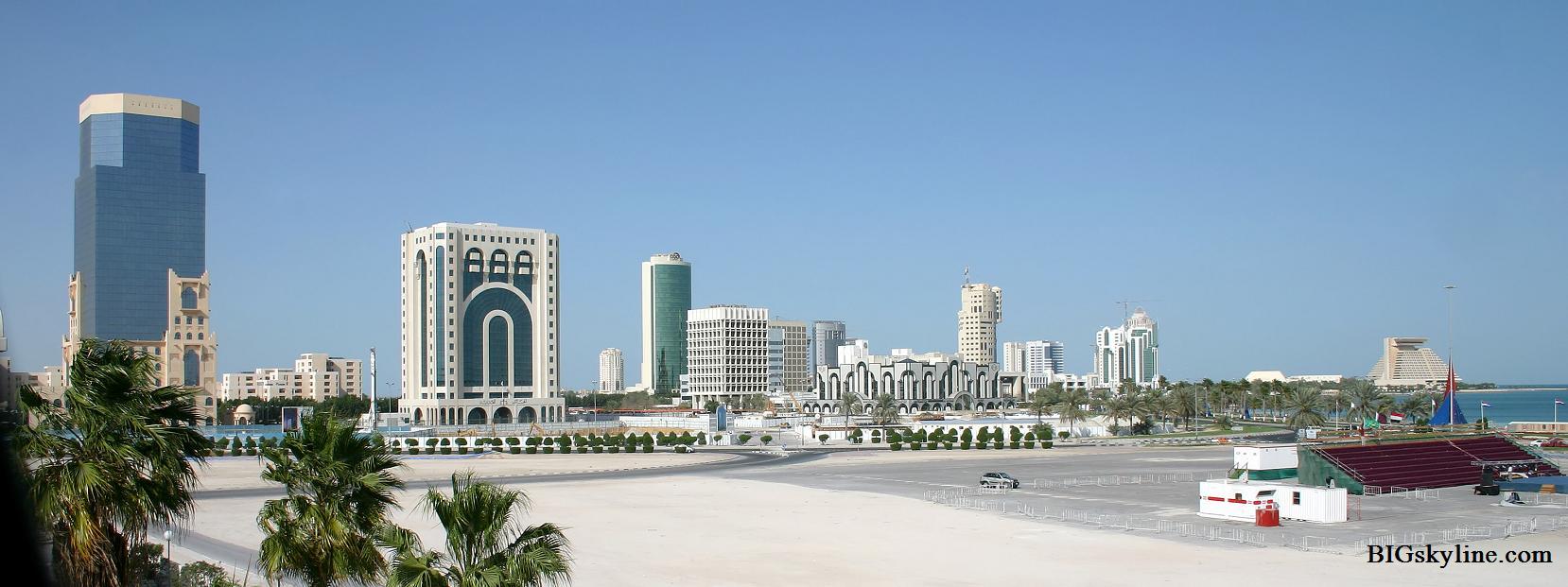 Doha Qatar  City pictures : Skyline Doha Qatar