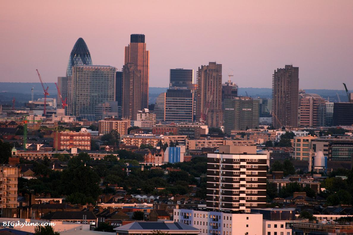 London, England city skyline