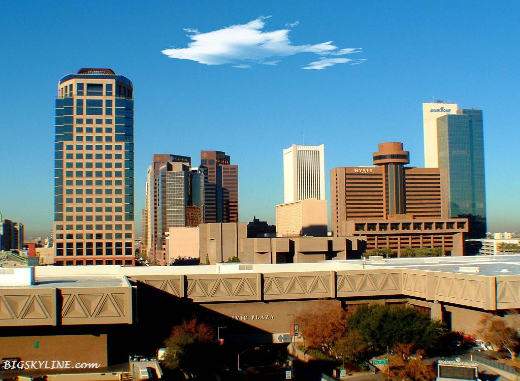 City skyline photo of Phoenix in Aironza, USA