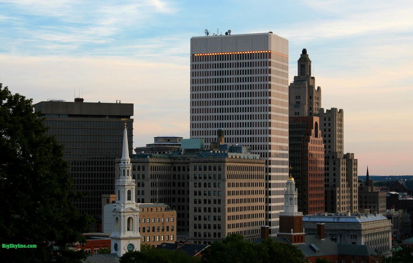 Skyline photo of Providence, Rhode Island