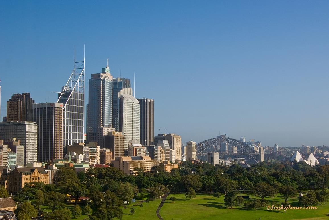 Another view of Sydney's city skyline