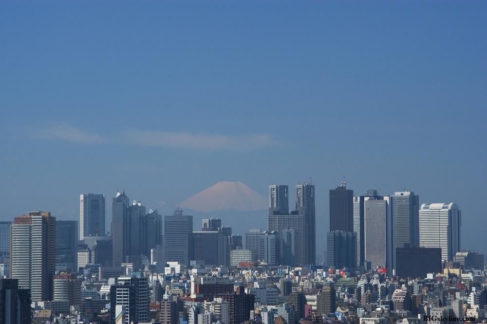 Tokio Skyline during the day
