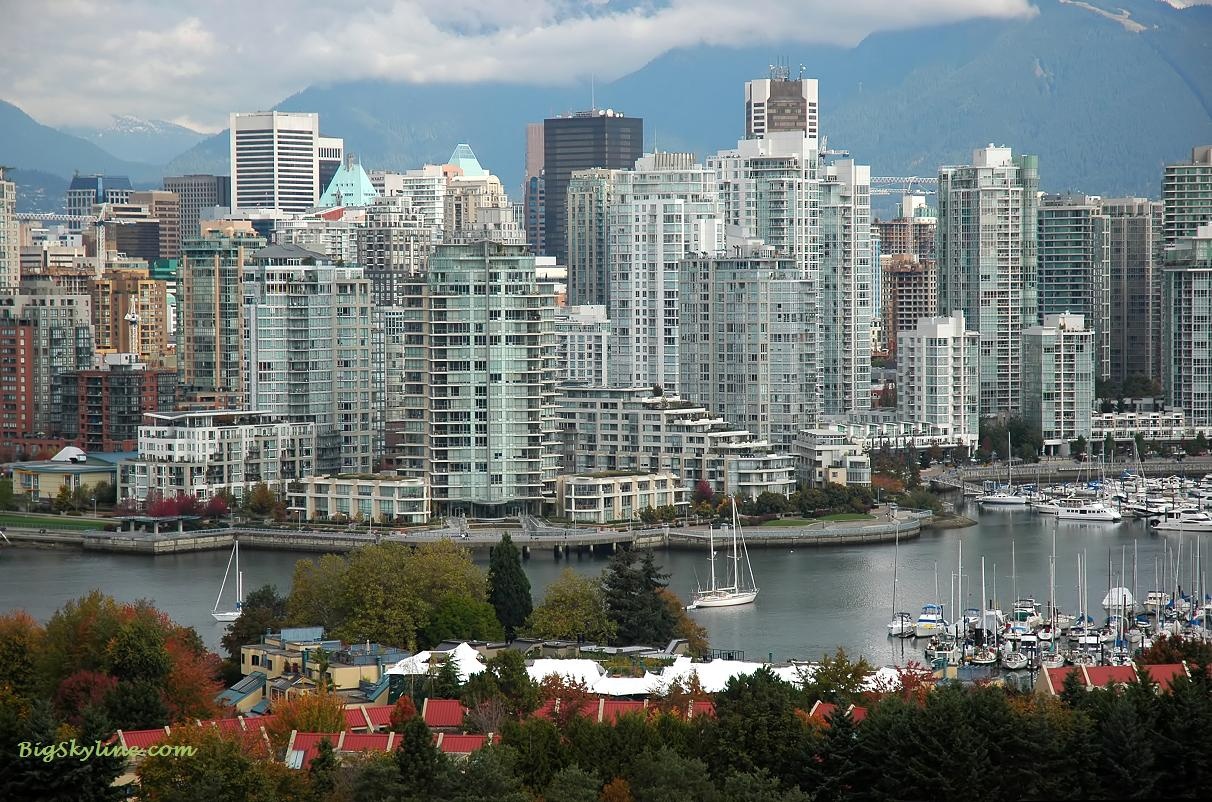 Vancouver (BC) Canada  city pictures gallery : Vancouver, British Columbia city skyline pic in Canada