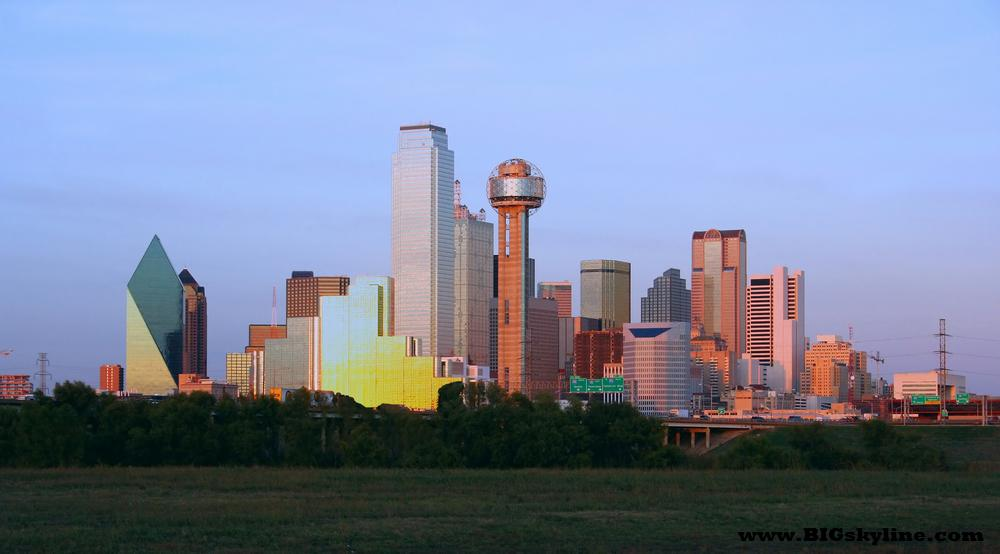 Dallas Skyline in Texas